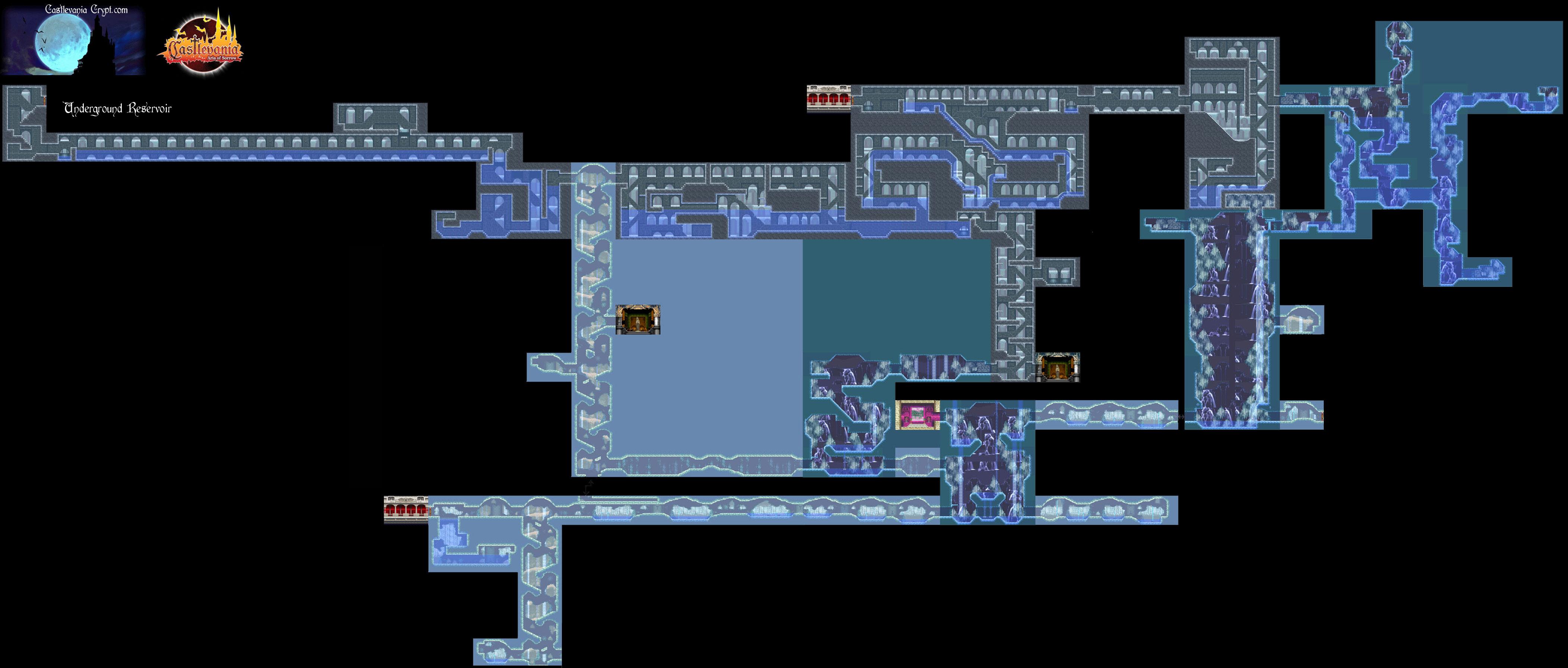 castlevania aria of sorrow карты монстры этапы локации