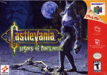 Американская обложка Castlevania: Legacy of Darkness