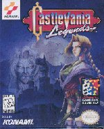 Американская обложка Castlevania: legends