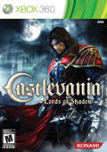 Castlevania: Lords of Shadow US обложка