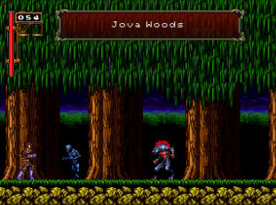 Castlevania II: Simon's Quest - Revamped screenshot