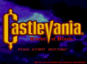 Castlevania: The Rondo of Blood